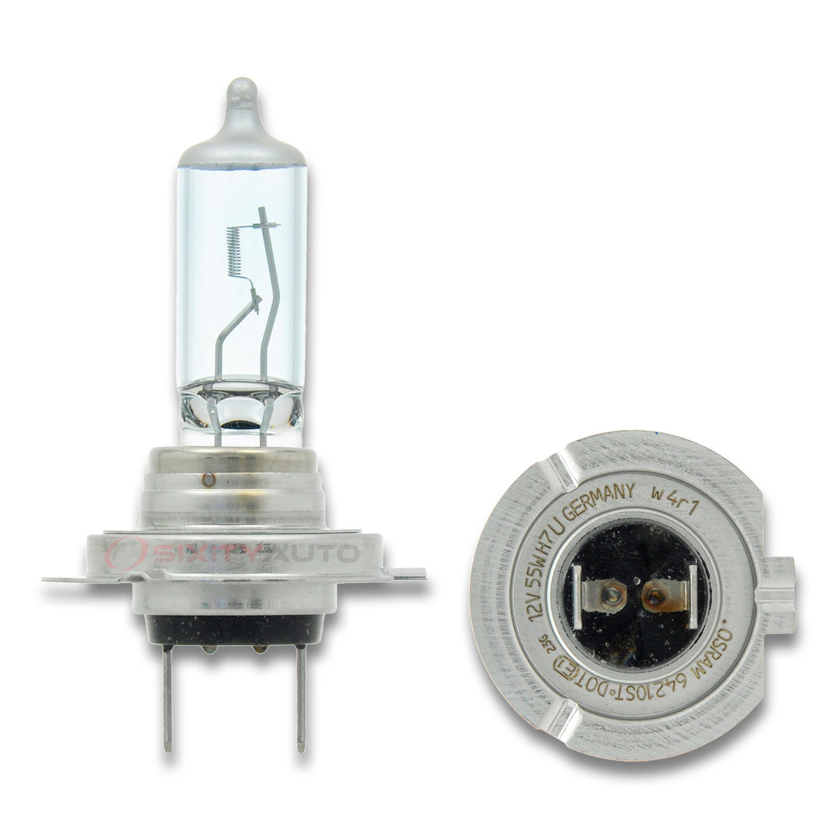 sylvania silverstar - high beam headlight bulb - 1996-2016
