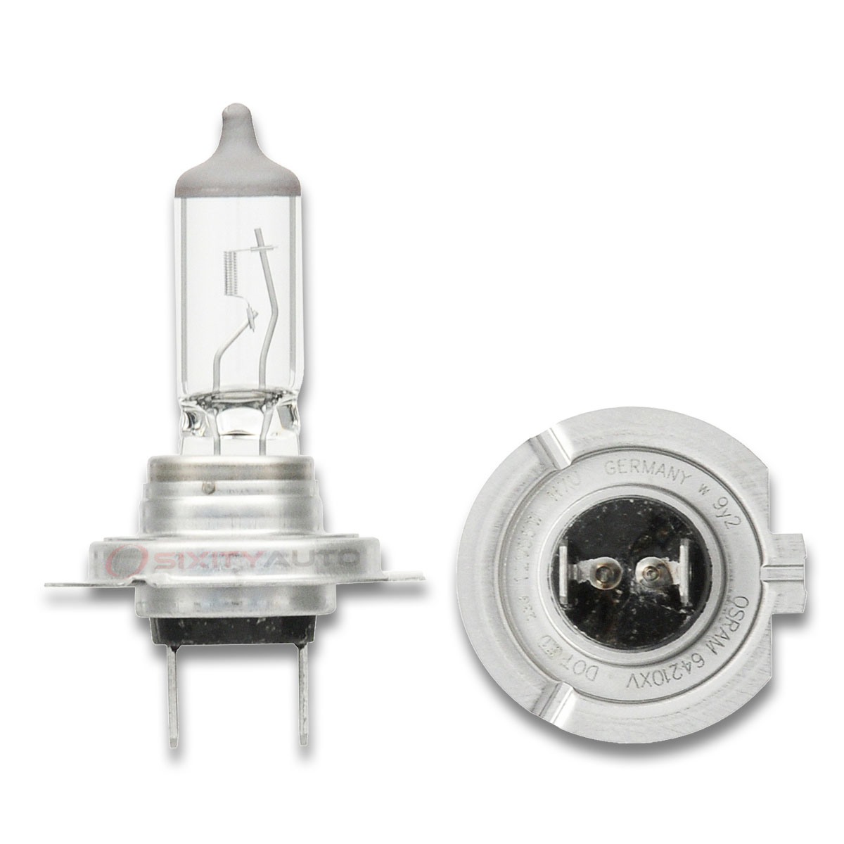sylvania xtravision - low beam headlight bulb - 1995-2016 mercedes