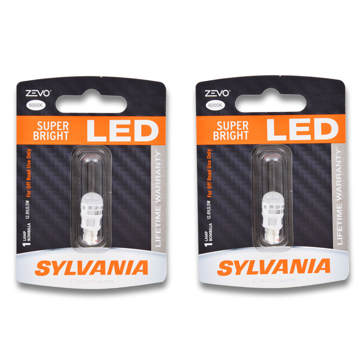 sylvania zevo led interior and exterior lights allow for easy replacement of dingy yellow bulbs with a brighter whiter sharper light source - Sylvania Light Bulbs