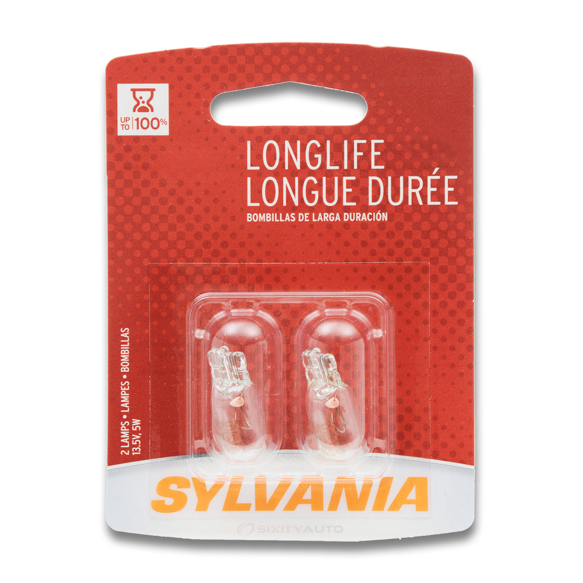 Sylvania long life bulbs brings increased bulb life to various automotive lighting applications these lamps have been engineered to withstand a sizeable