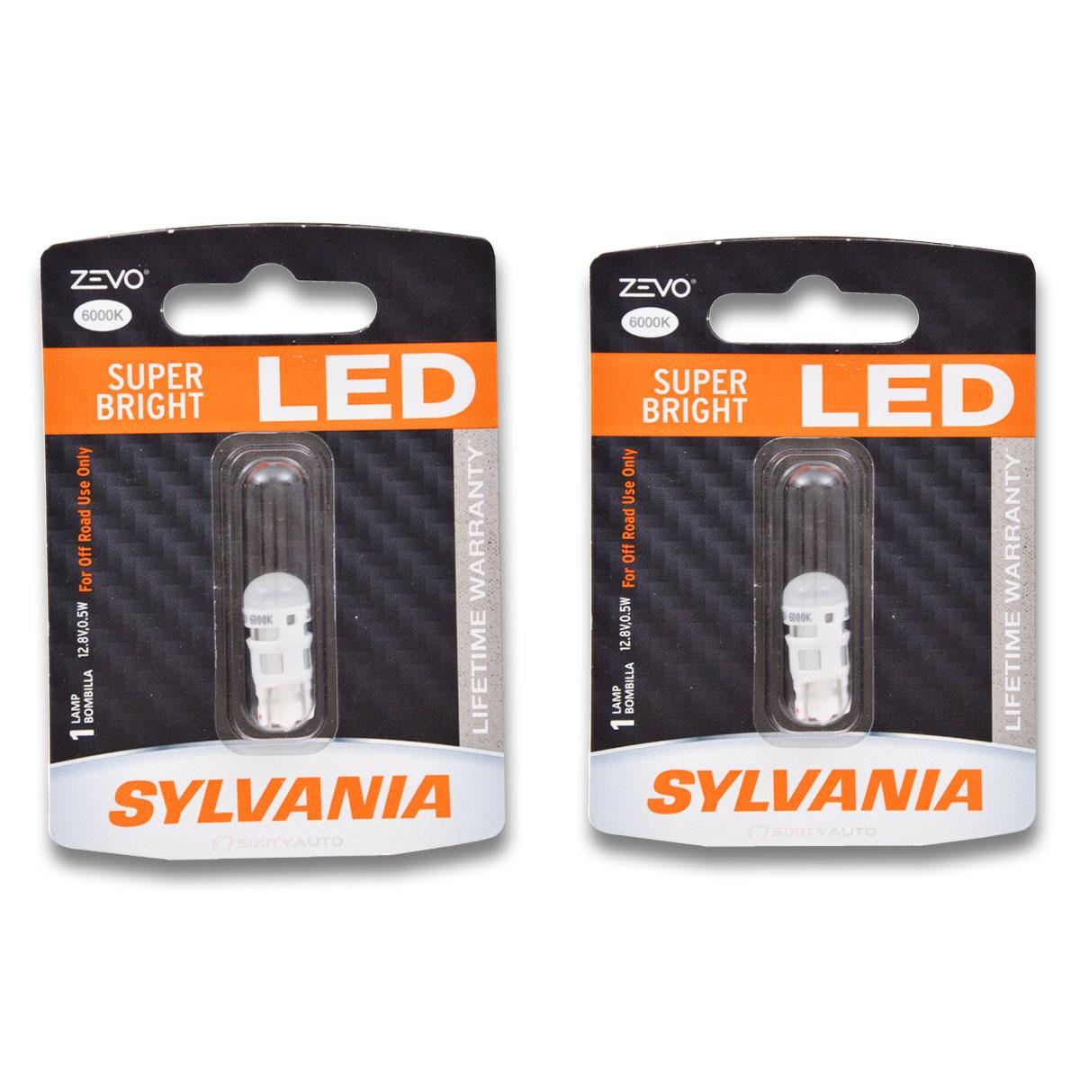 Sylvania Long Life Front Side Marker Light Bulb for Toyota 4Runner Prius V de