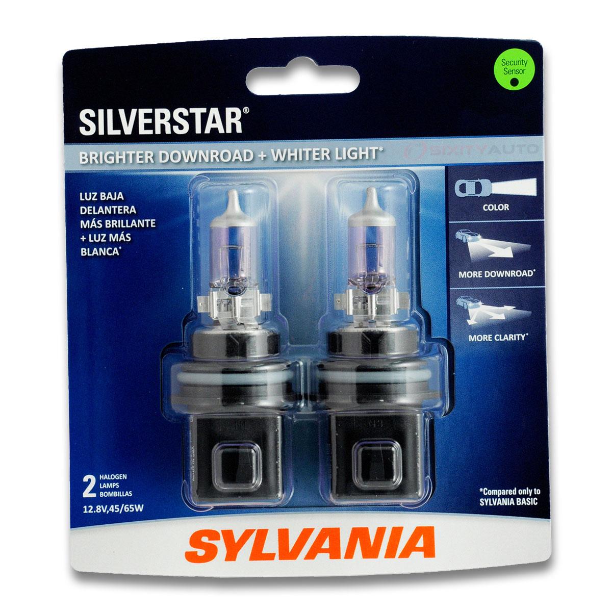 Sylvania SilverStar Ultra High Beam Headlight Bulb for Toyota 4Runner Prius ih