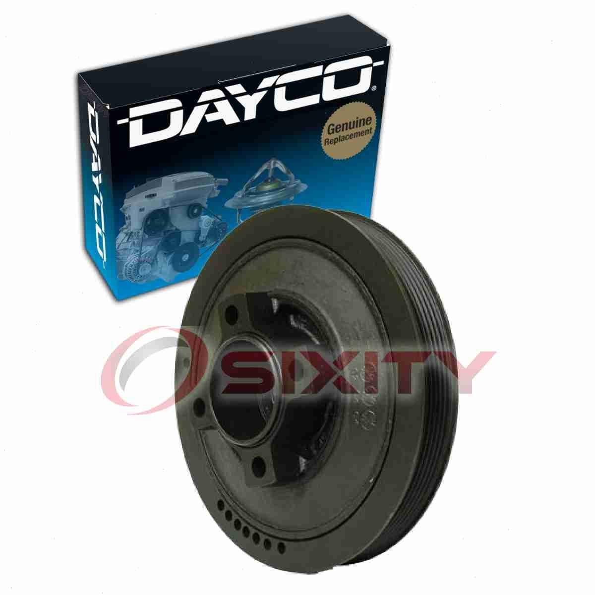 Dayco Harmonic Balancer For 1994-1996 Chevrolet G30 6.5L