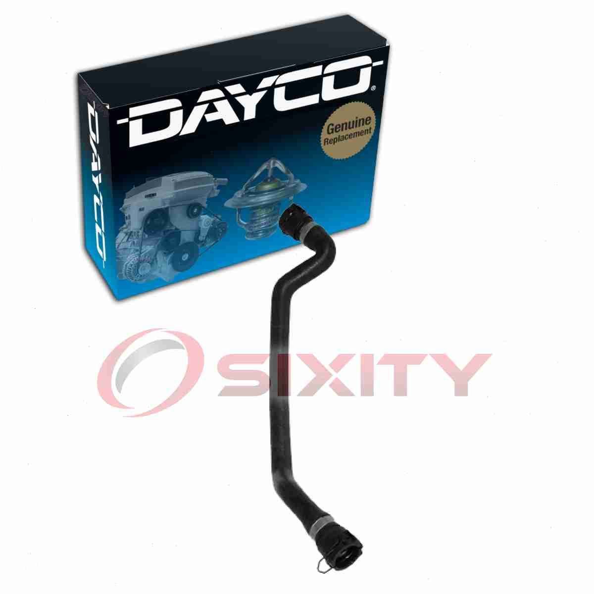 Lower HVAC la Dayco Heater Hose for 2004-2006 BMW X3 3.0L 2.5L L6 Reservoir