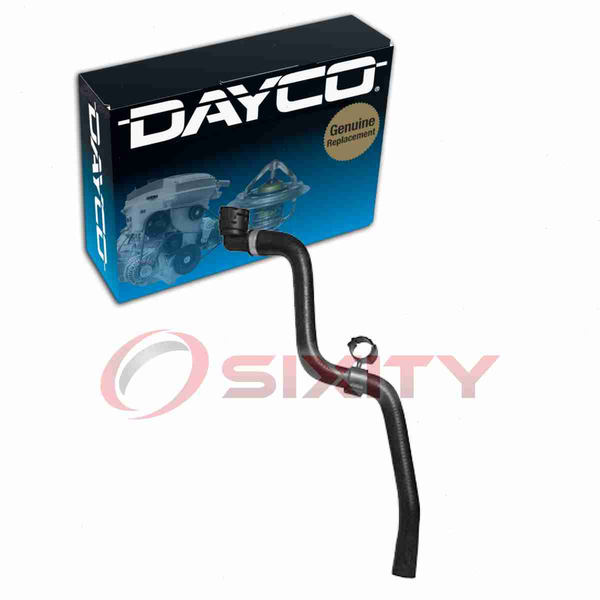 Dayco Heater Hose For 2016 Chevrolet Cruze Limited 1.4L L4