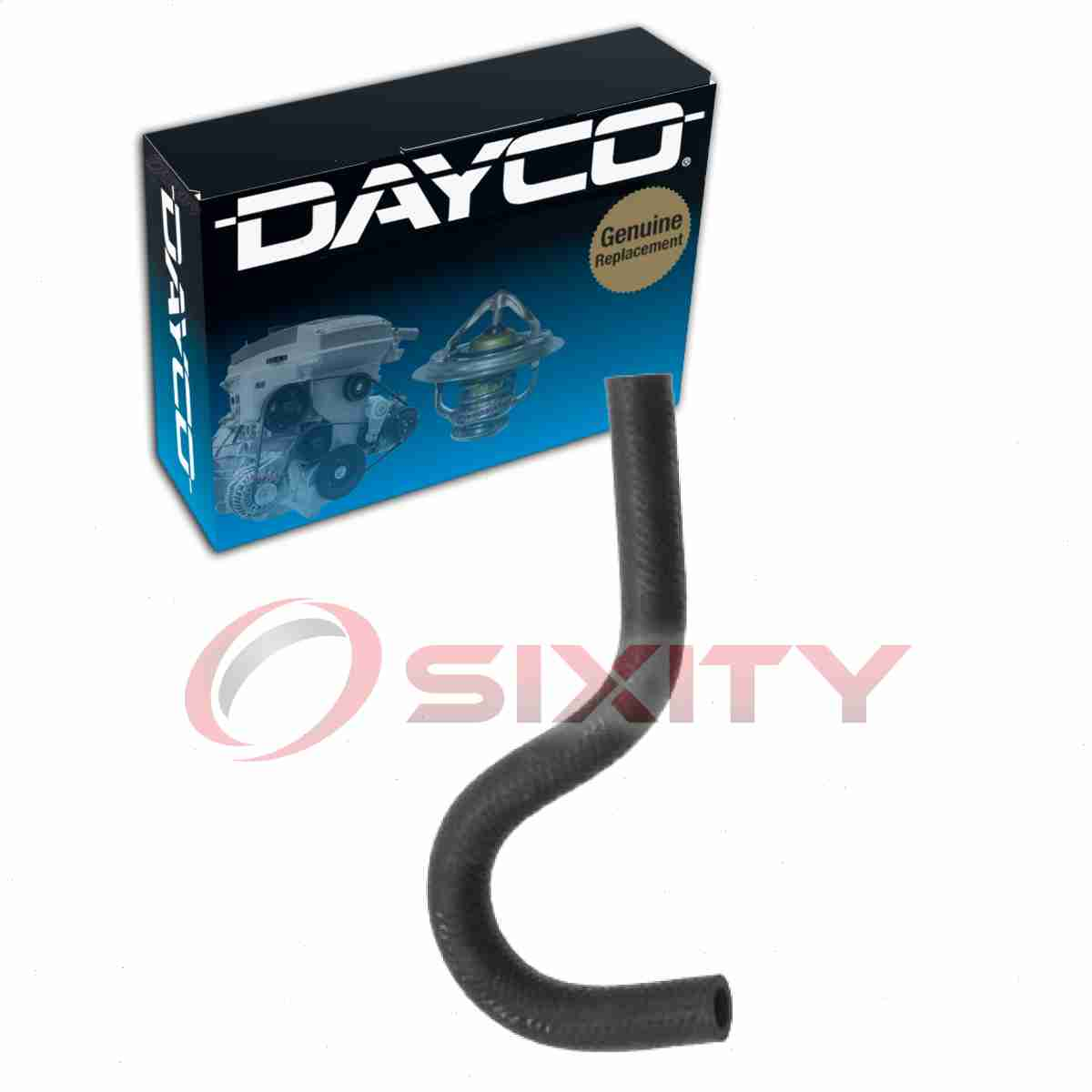 80411 Dayco Heater Hose Upper New for Chevy Mercedes Olds VW Le Sabre Custom 190