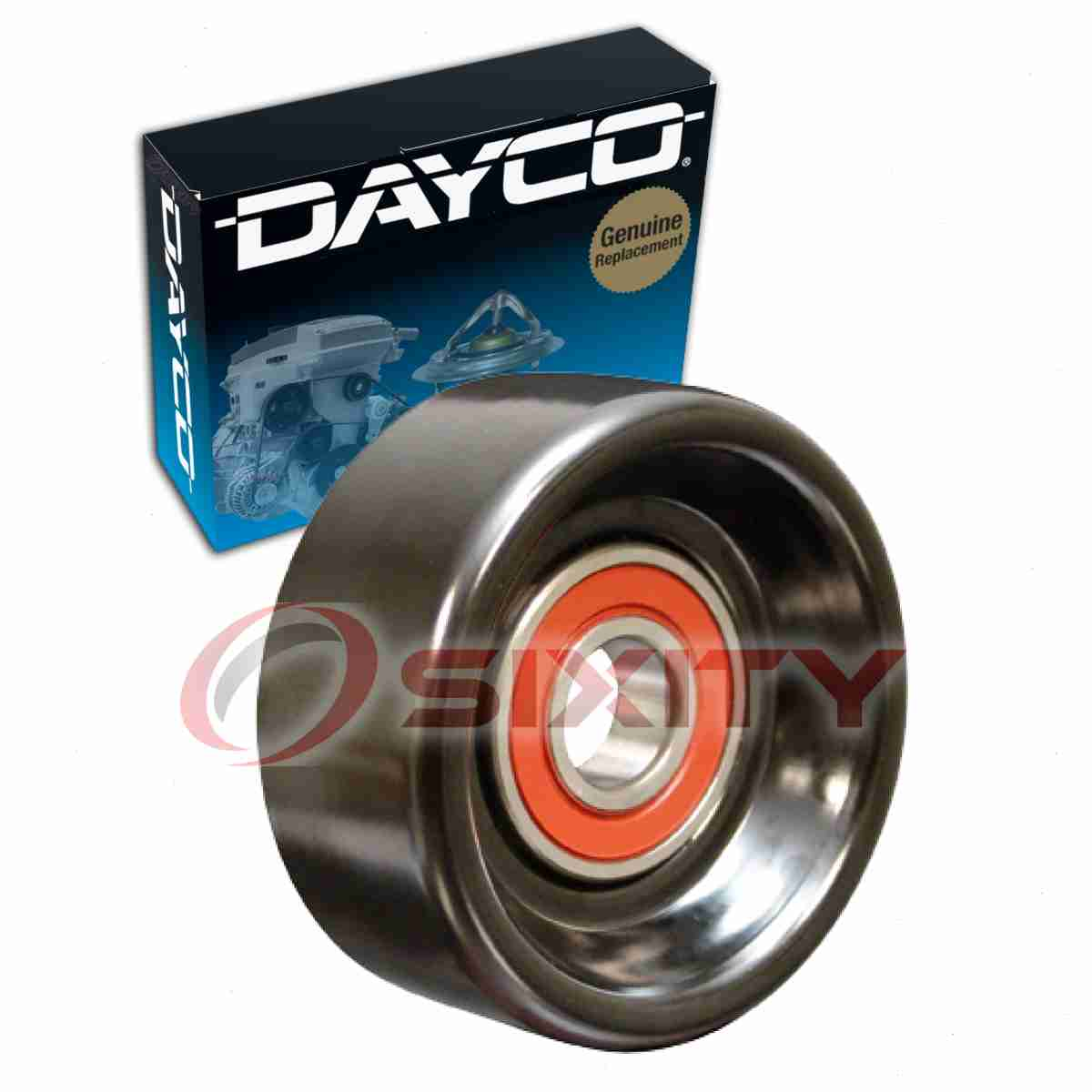 Dayco Drive Belt Idler Pulley For 1996-2000 Jeep Cherokee