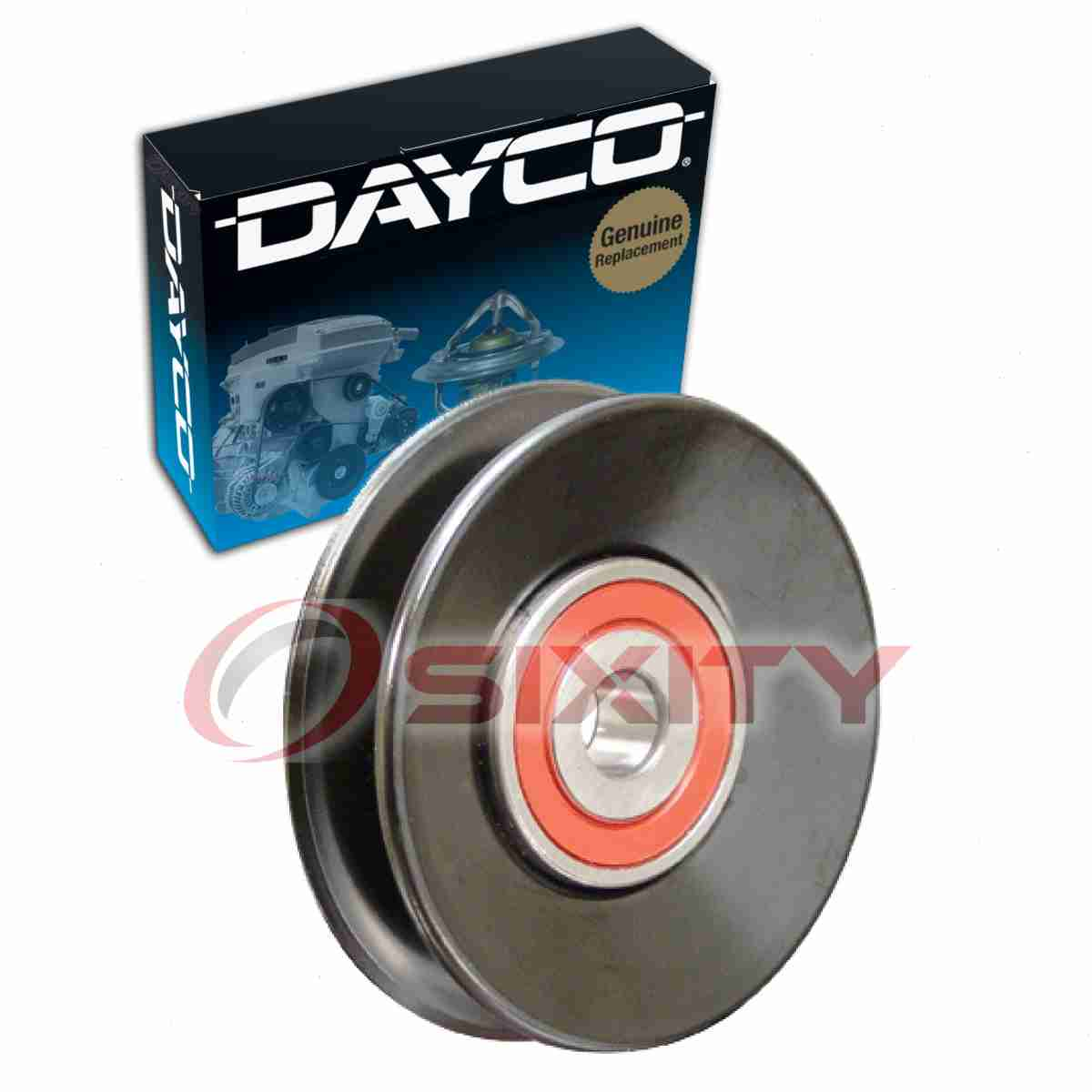 Details about Dayco Power Steering Drive Belt Idler Pulley for 1995-1997  Nissan Pickup wu
