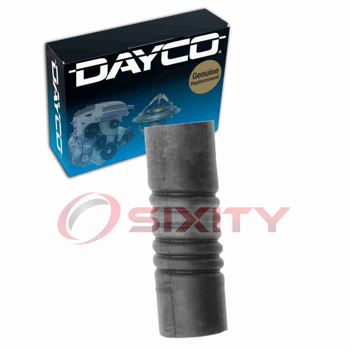 details about dayco lower radiator hose for 1932 cadillac 370 b - engine  coolant heating iv