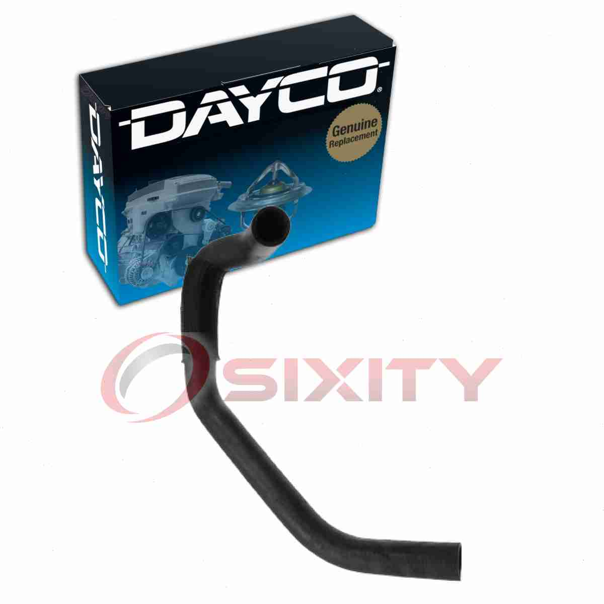 2X Radiator Coolant Hose Upper Lower Dayco For 1997-1999 Dodge Dakota