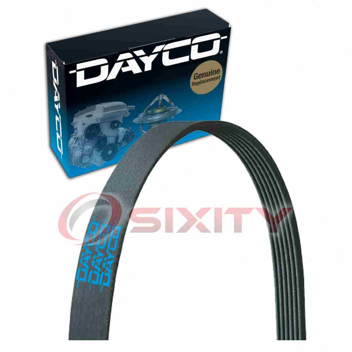 Dayco Serpentine Belt For 1999 2004 Chrysler 300m 3 5l V6 V Belt 99 Jeep  Wrangler Belt Diagram 99 Chrysler 300m Belt Diagram