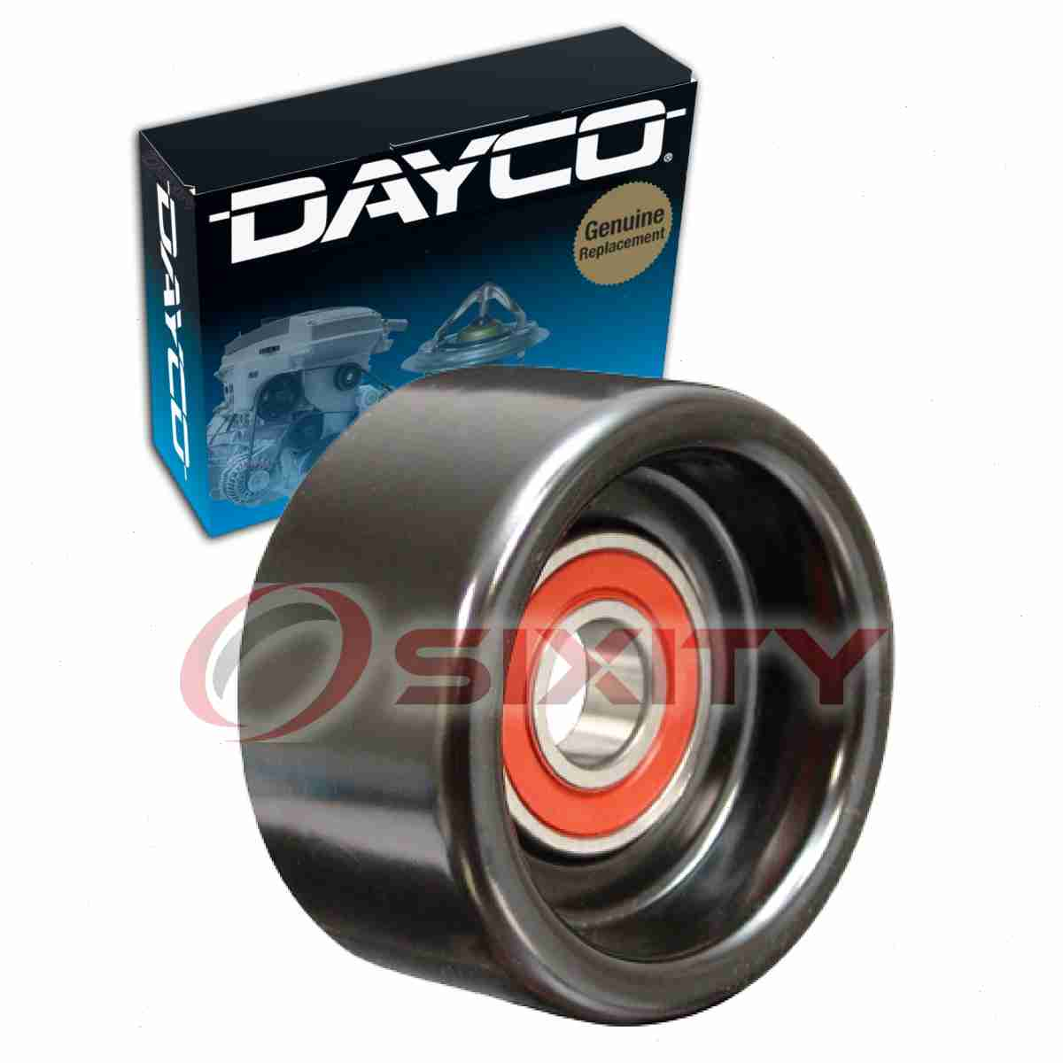Dayco Drive Belt Pulley For 2007-2012 Acura RDX 2.3L L4