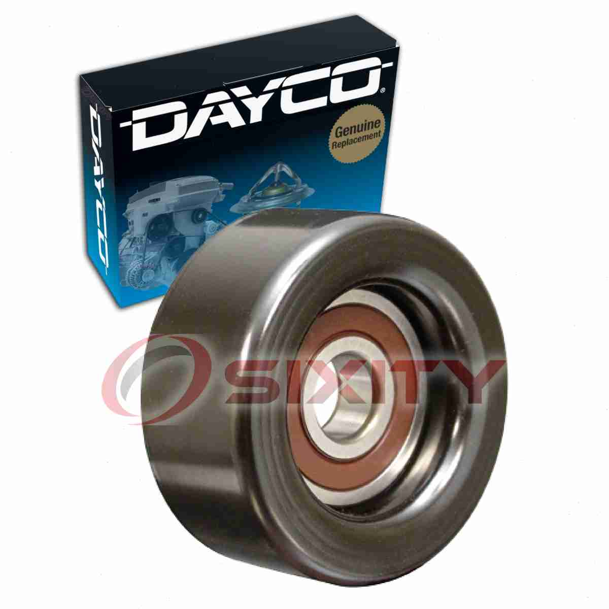 Dayco Drive Belt Pulley For 2015-2016 Acura TLX 3.5L V6
