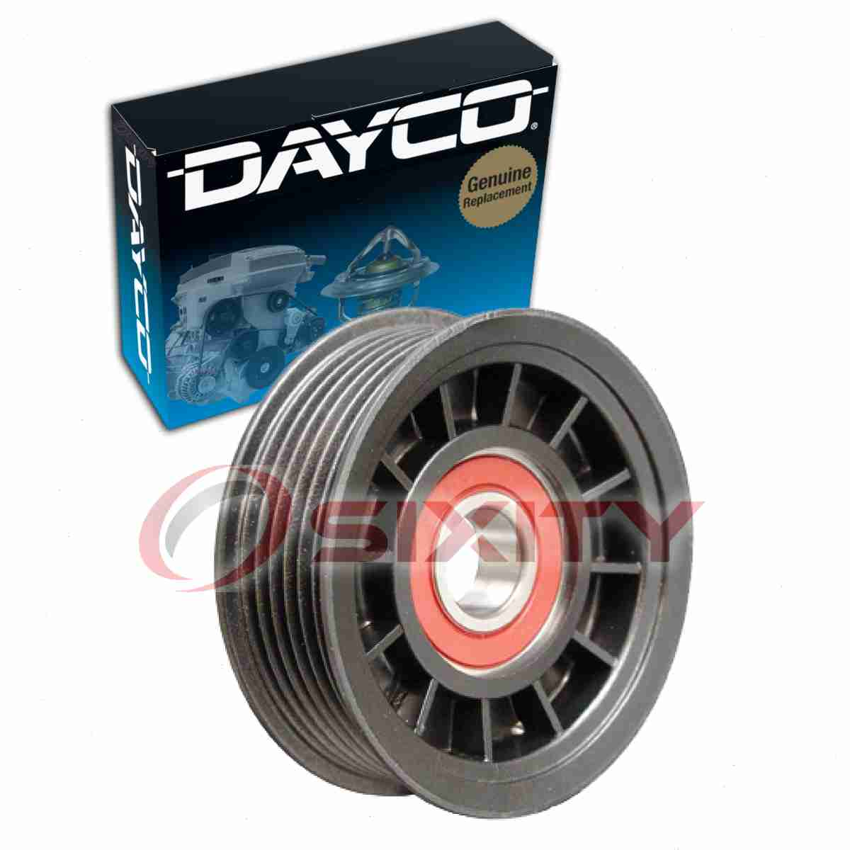 Dayco Drive Belt Pulley For 2003-2004 Cadillac CTS 3.2L V6