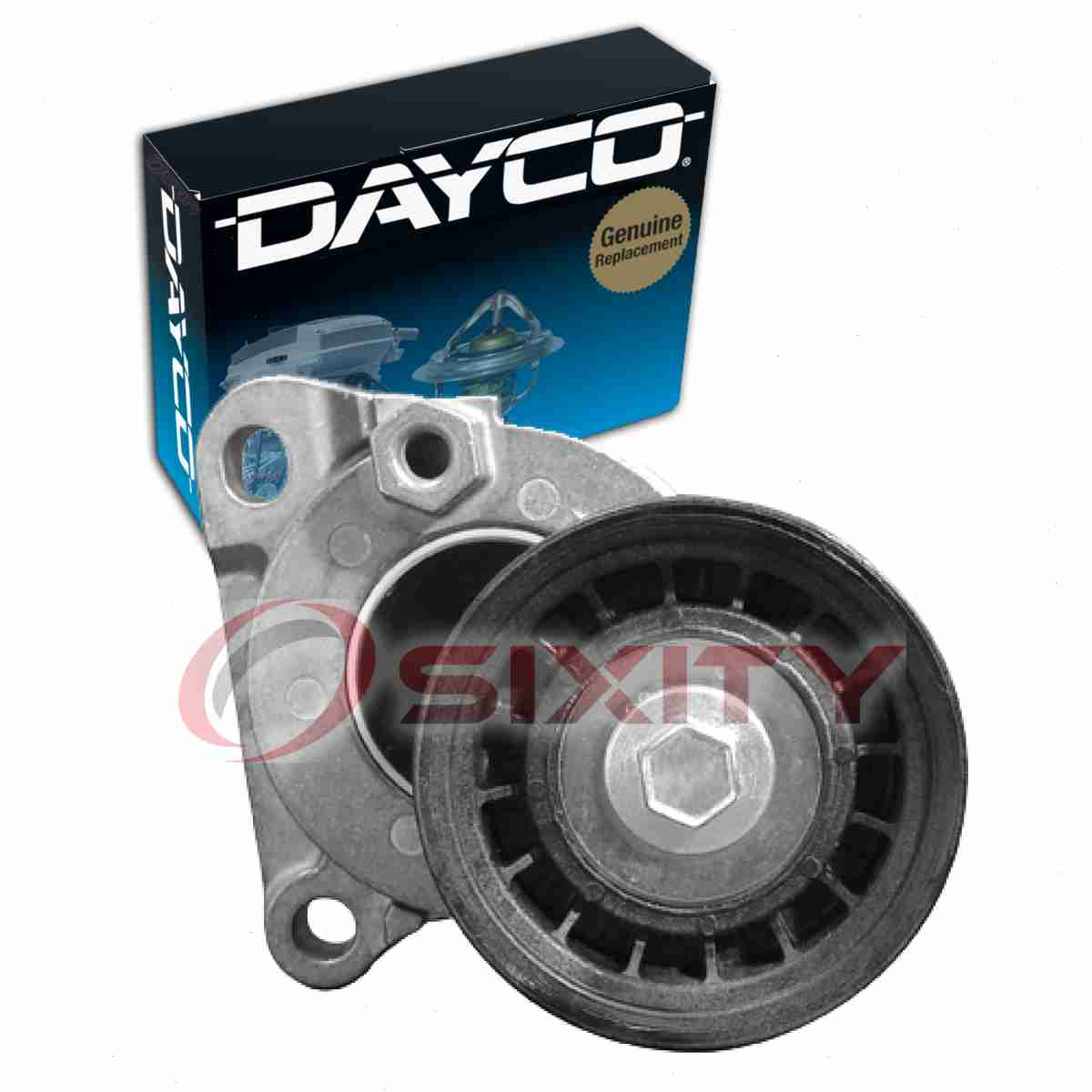 Dayco Drive Belt Pulley For 2005-2012 Ford Escape 2.3L 2