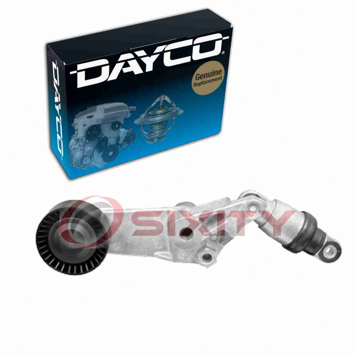 estilo de moda de 2019 completo en especificaciones Productos Dayco Correa De Transmisión Polea Para 1998-2008 Toyota ...