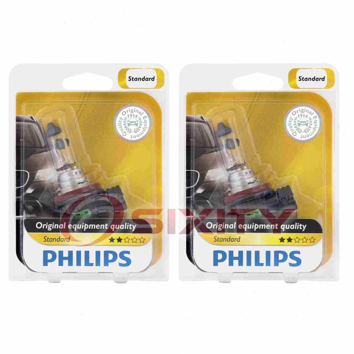 Philips Low Beam Headlight Light Bulb For Acura MDX ILX