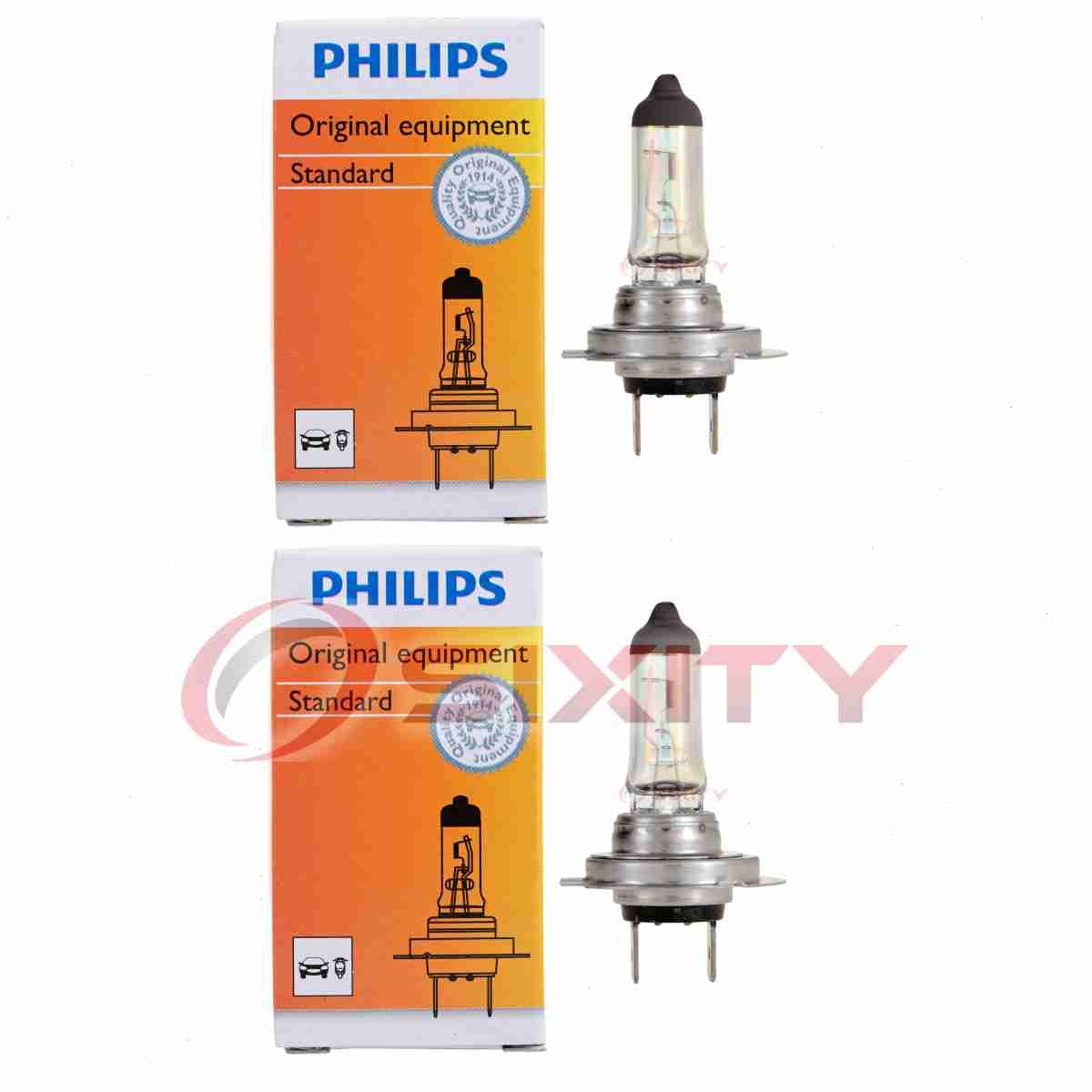 Philips Low Beam Headlight Light Bulb For Hyundai Azera