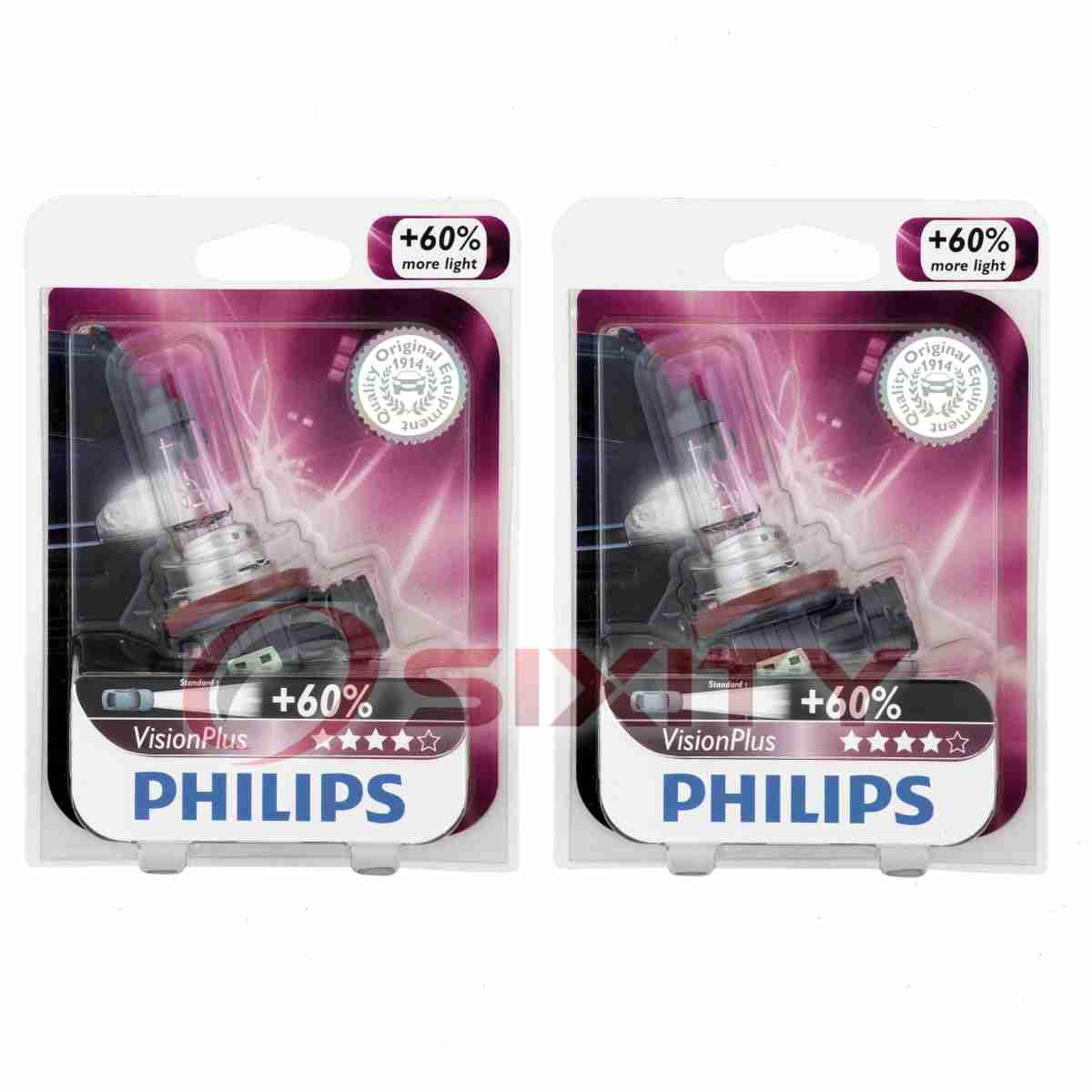 Philips Low Beam Headlight Light Bulb for Land Rover LR2 ...