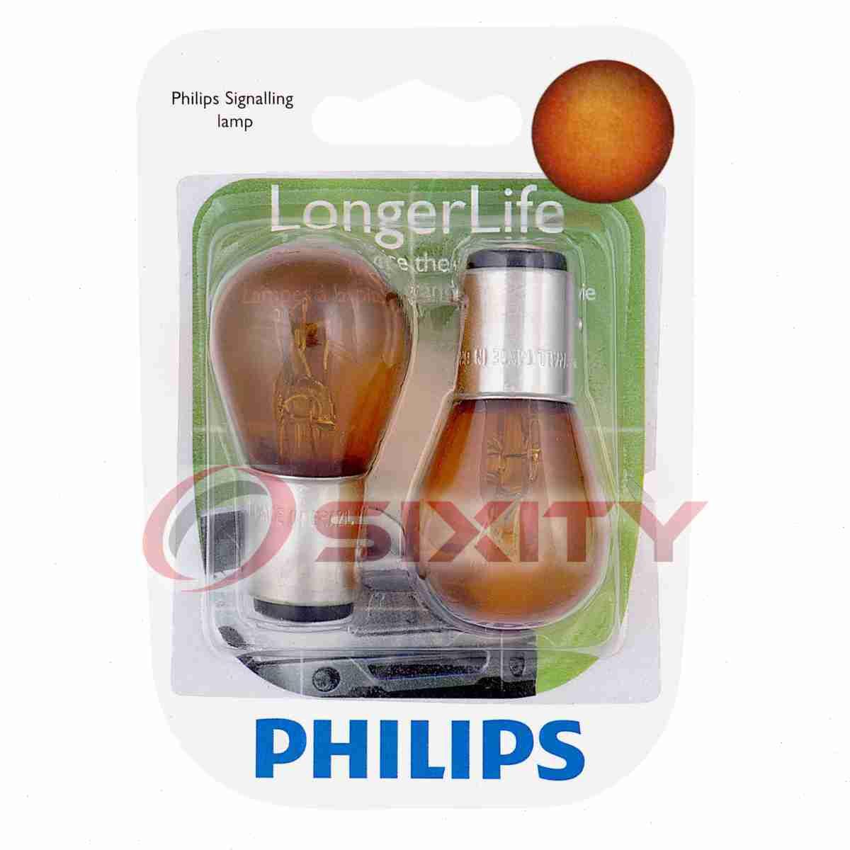 Philips Parking Light Bulb for Pontiac Parisienne Phoenix LeMans Vibe J2000 fe