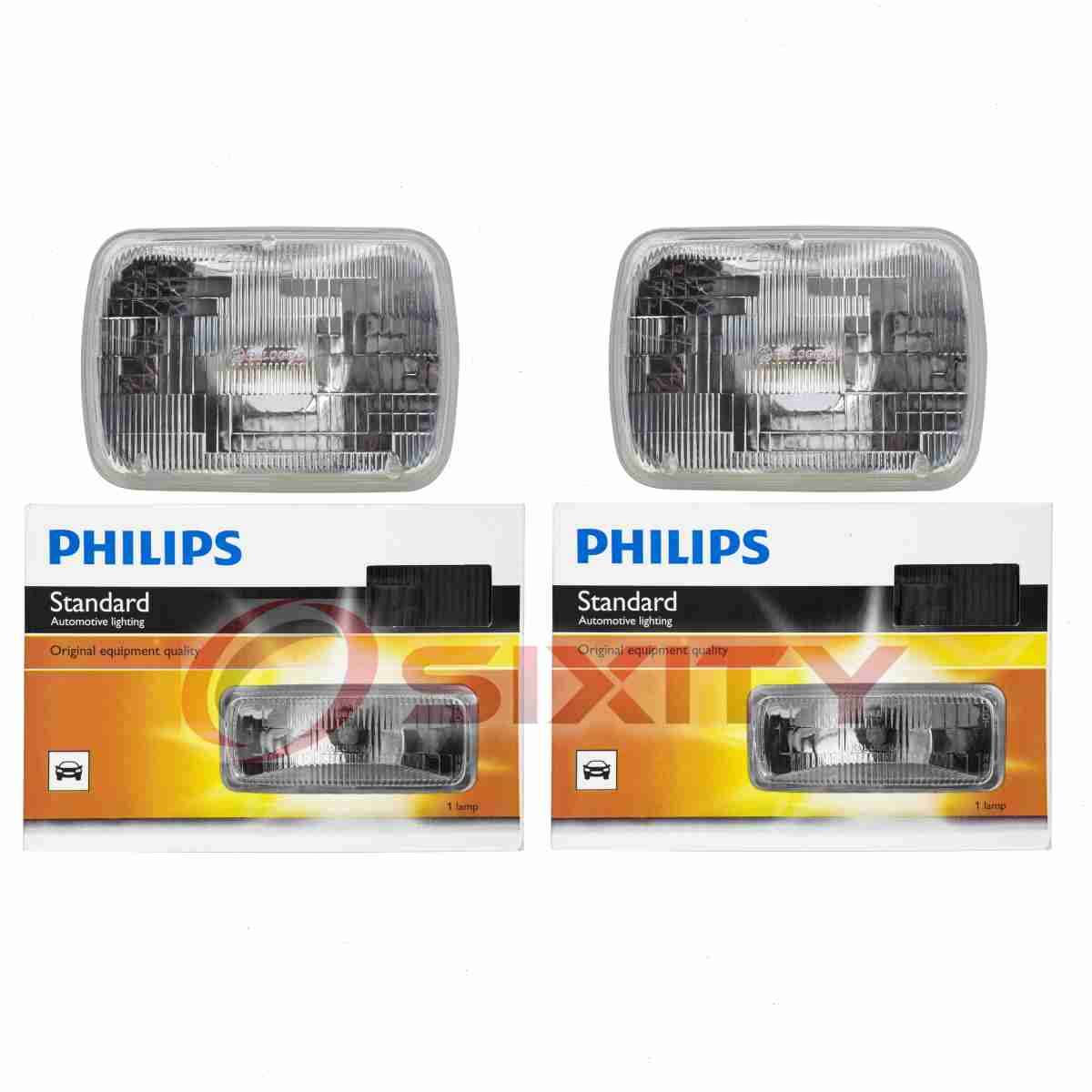 Philips Low Beam Headlight Light Bulb for Toyota 4Runner Tacoma Prius C mt Car & Truck Parts