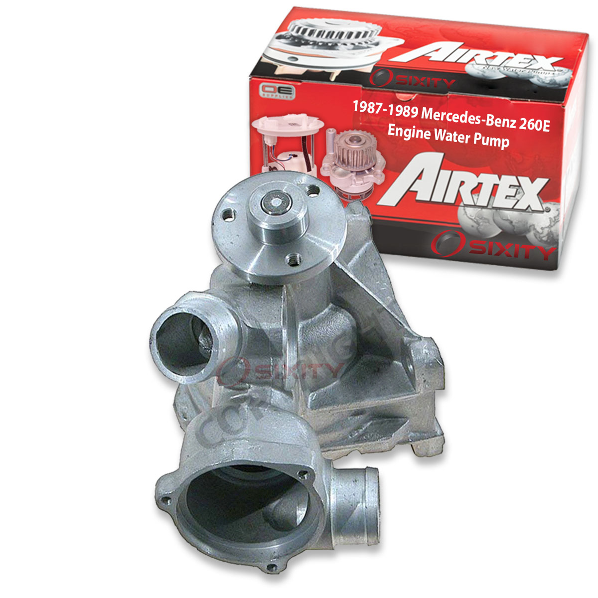 Airtex Engine Water Pump For 1987