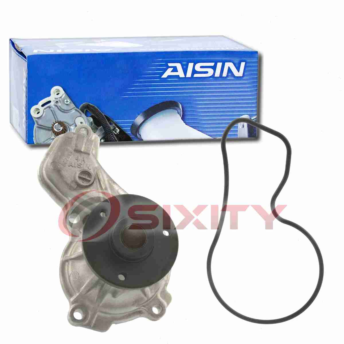 AISIN Engine Water Pump for 2006-2011 Honda Civic 1.8L L4 Coolant Antifreeze ep