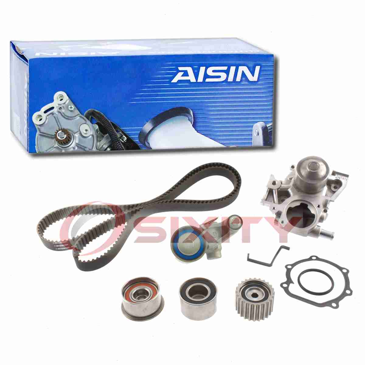 ee AISIN Timing Belt Kit w// Water Pump for 1999-2005 Subaru Forester 2.5L H4