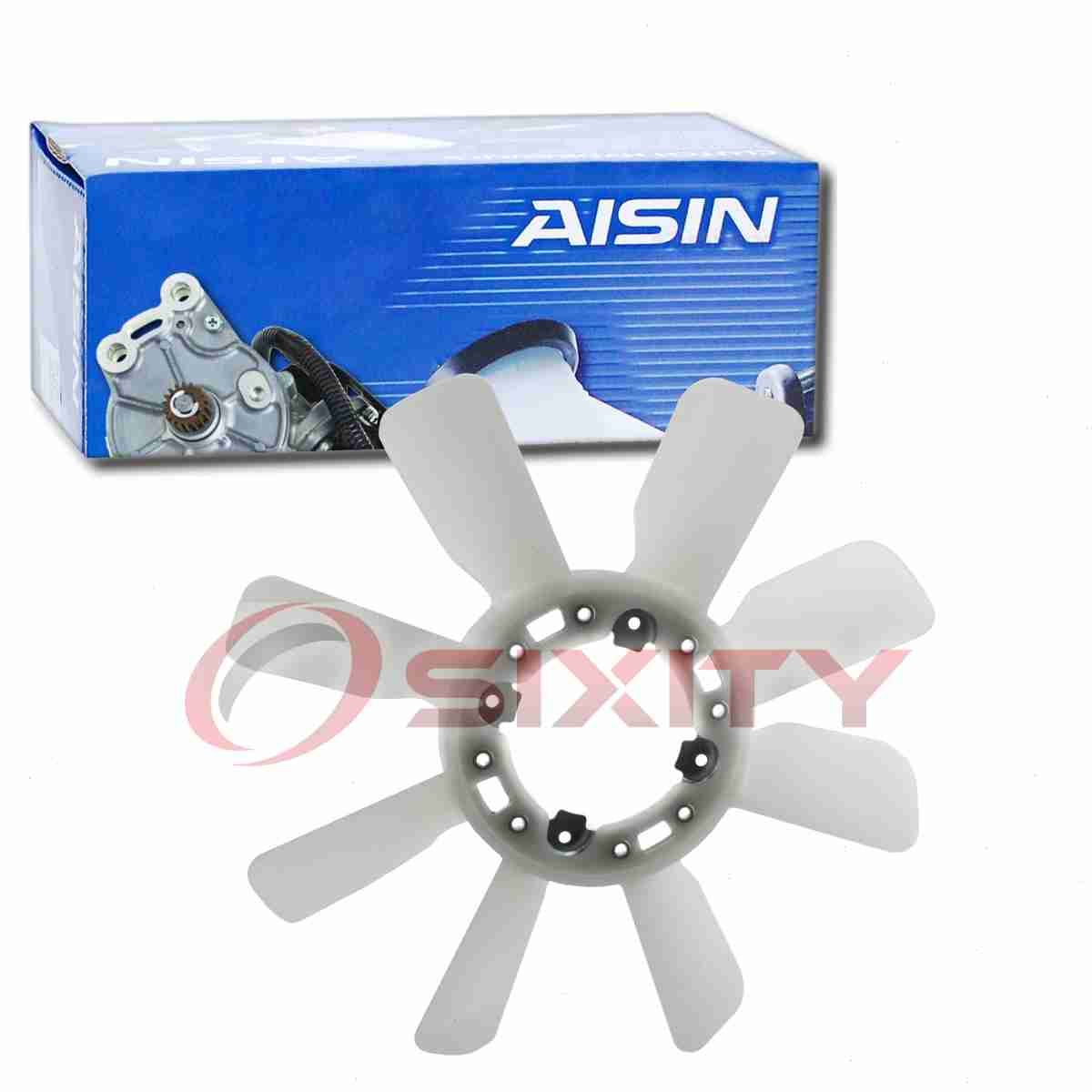 AISIN Engine Cooling Fan Blade for 1991-1992 Toyota Land Cruiser 4.0L L6 di