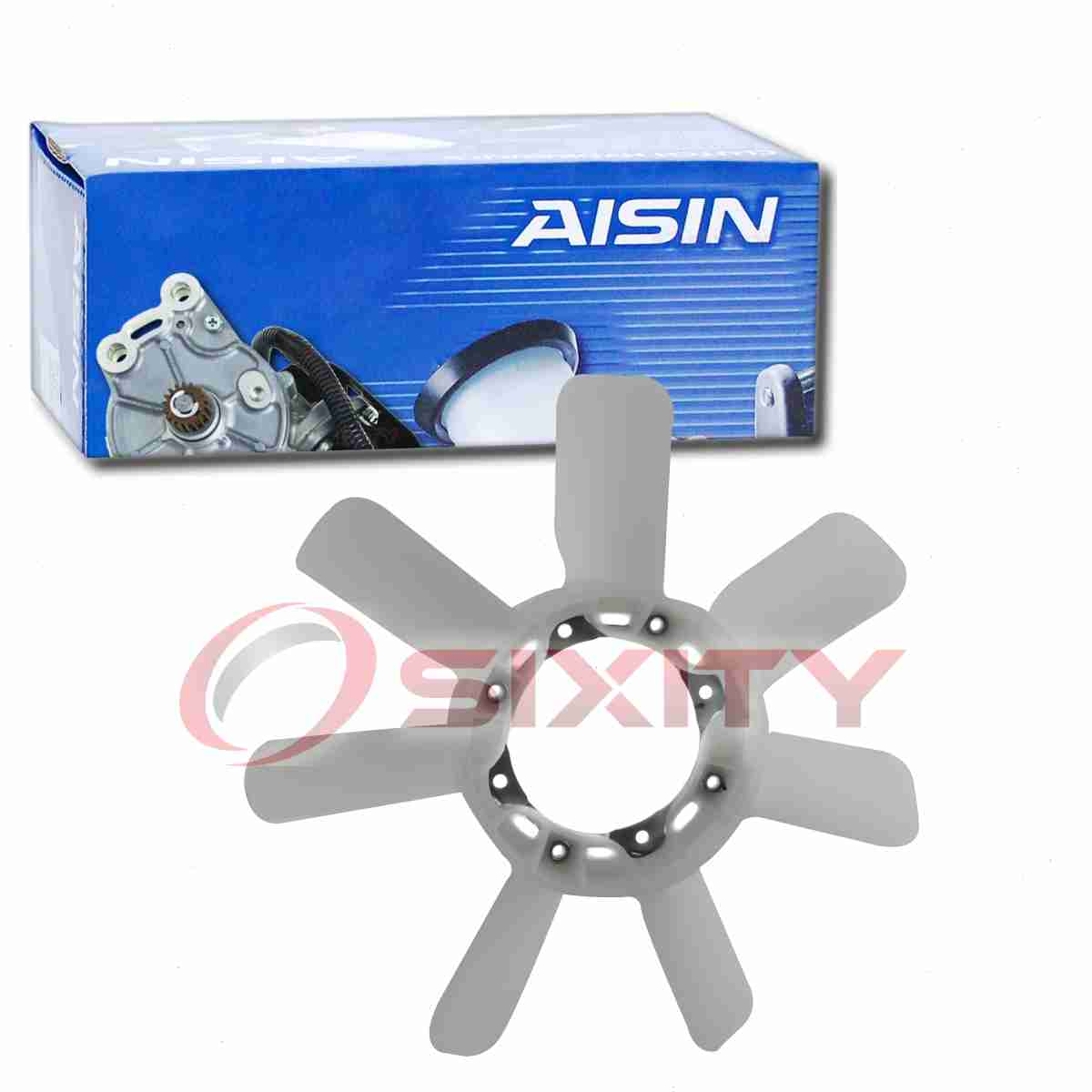 AISIN Cooling Fan Blade for 1998-2005 Lexus LX470 4.7L V8 Radiator Engine bj