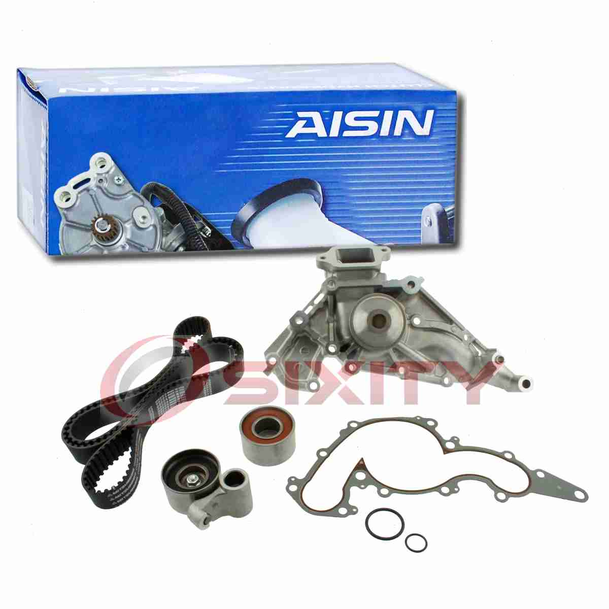 AISIN Timing Belt Kit W/ Water Pump For 2001-2009 Toyota