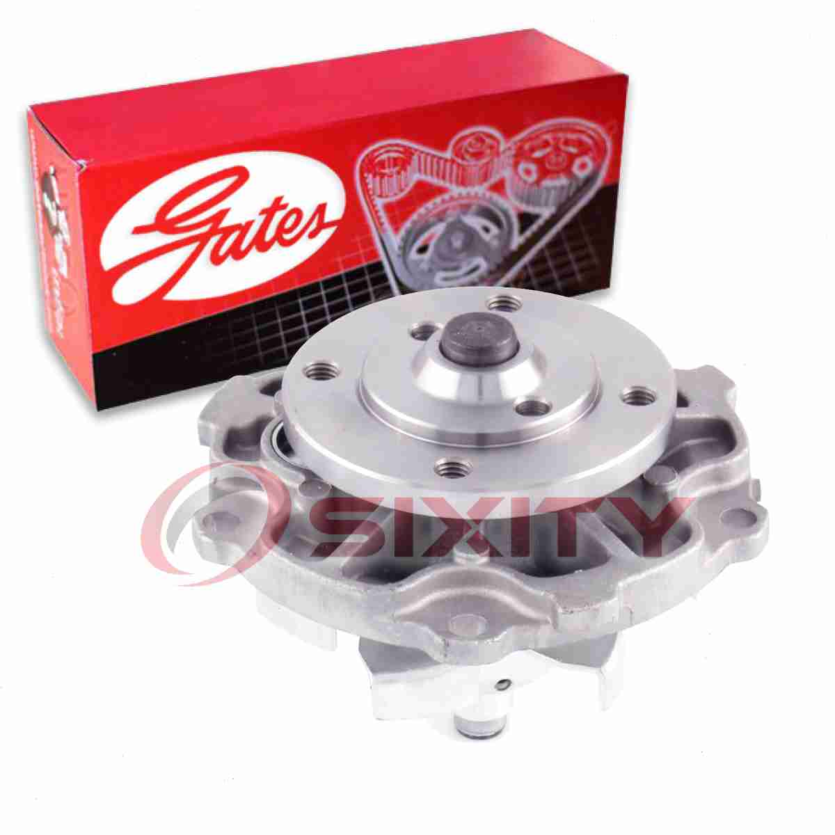Engine Water Pump For 2002-2005 BUICK RENDEZVOUS V6 3.4L
