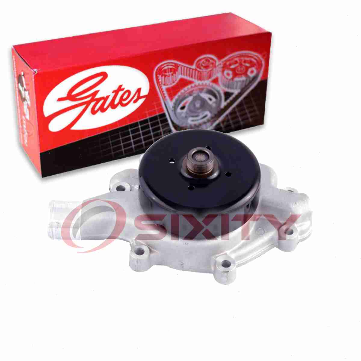 Gates Timing Belt Water Pump Kit for 2013-2015 Acura RDX 3.5L V6 Engine mf