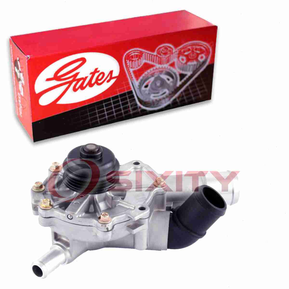 Water Pump For 2006-2009 Ford Fusion 3.0L V6 GAS 2007 2008 C729XQ