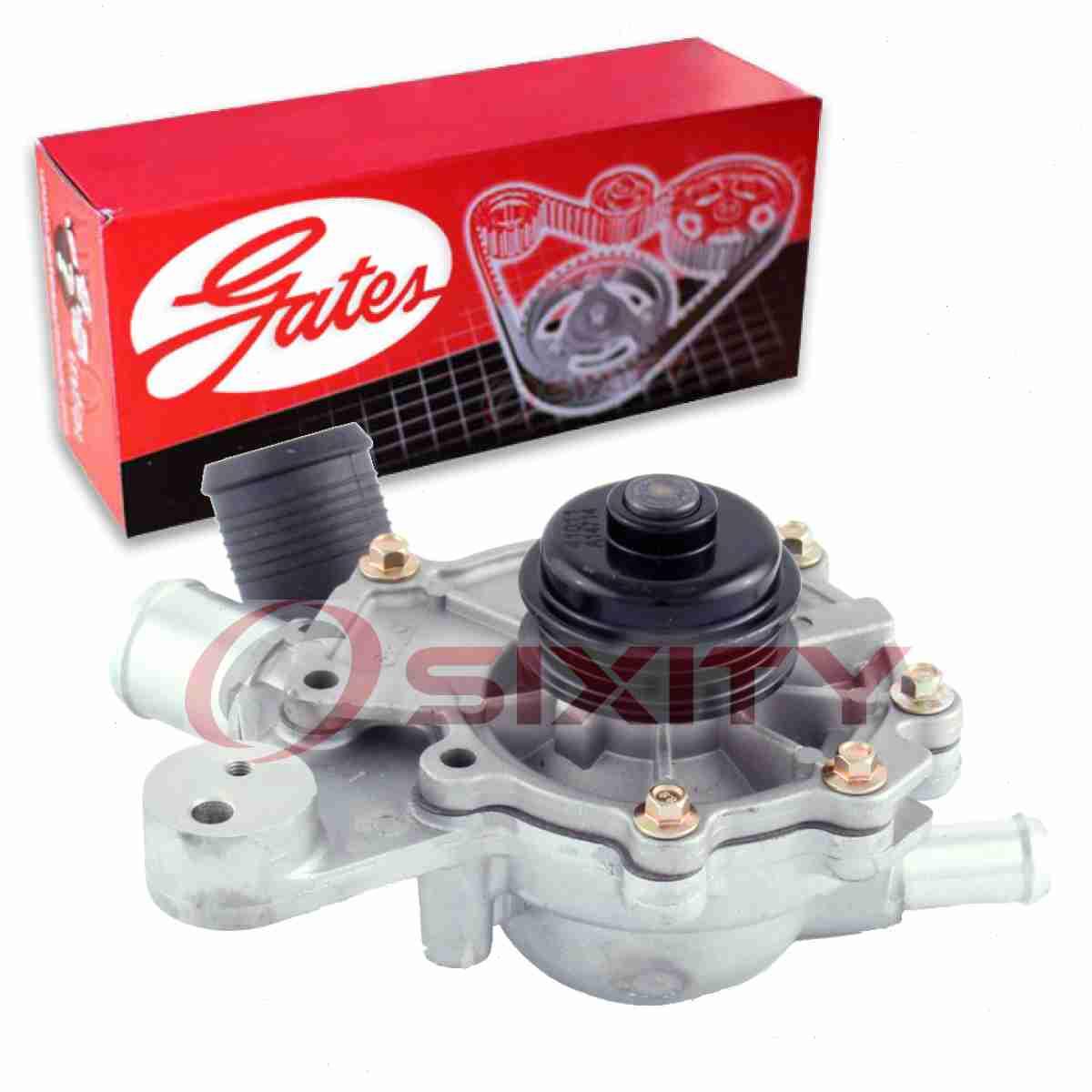 Standard Gates 42138 fits 96-98 Mazda MPV 3.0L-V6 Engine Water Pump-Water Pump