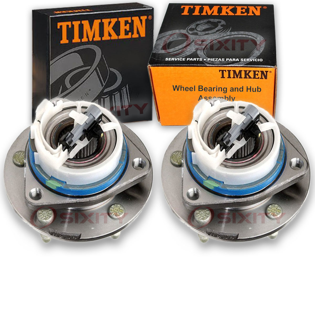 Timken Front Wheel Bearing & Hub Assembly For 2002-2013