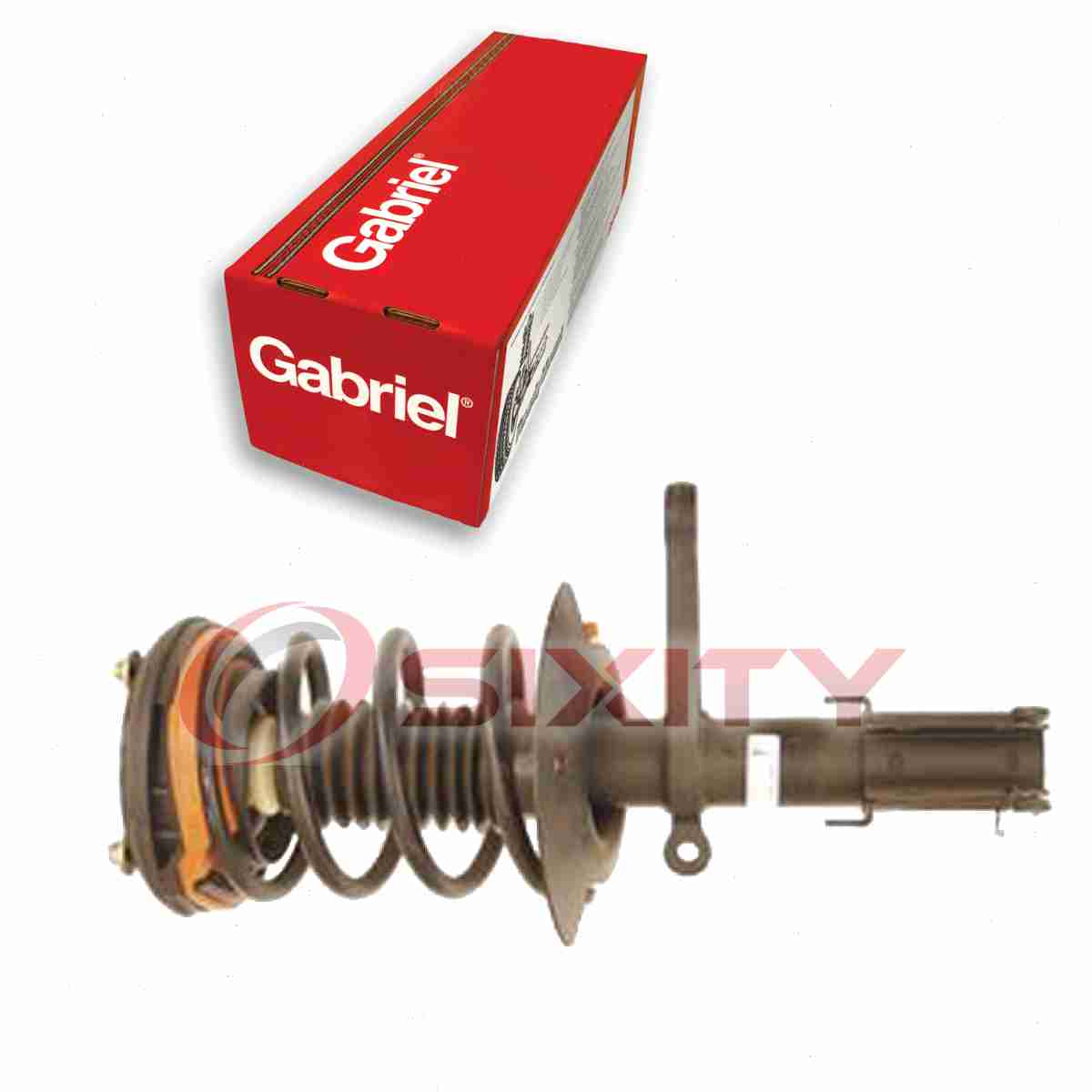 Gabriel Front Right Strut: Gabriel Front Right Fully Loaded Strut For 1998-2004