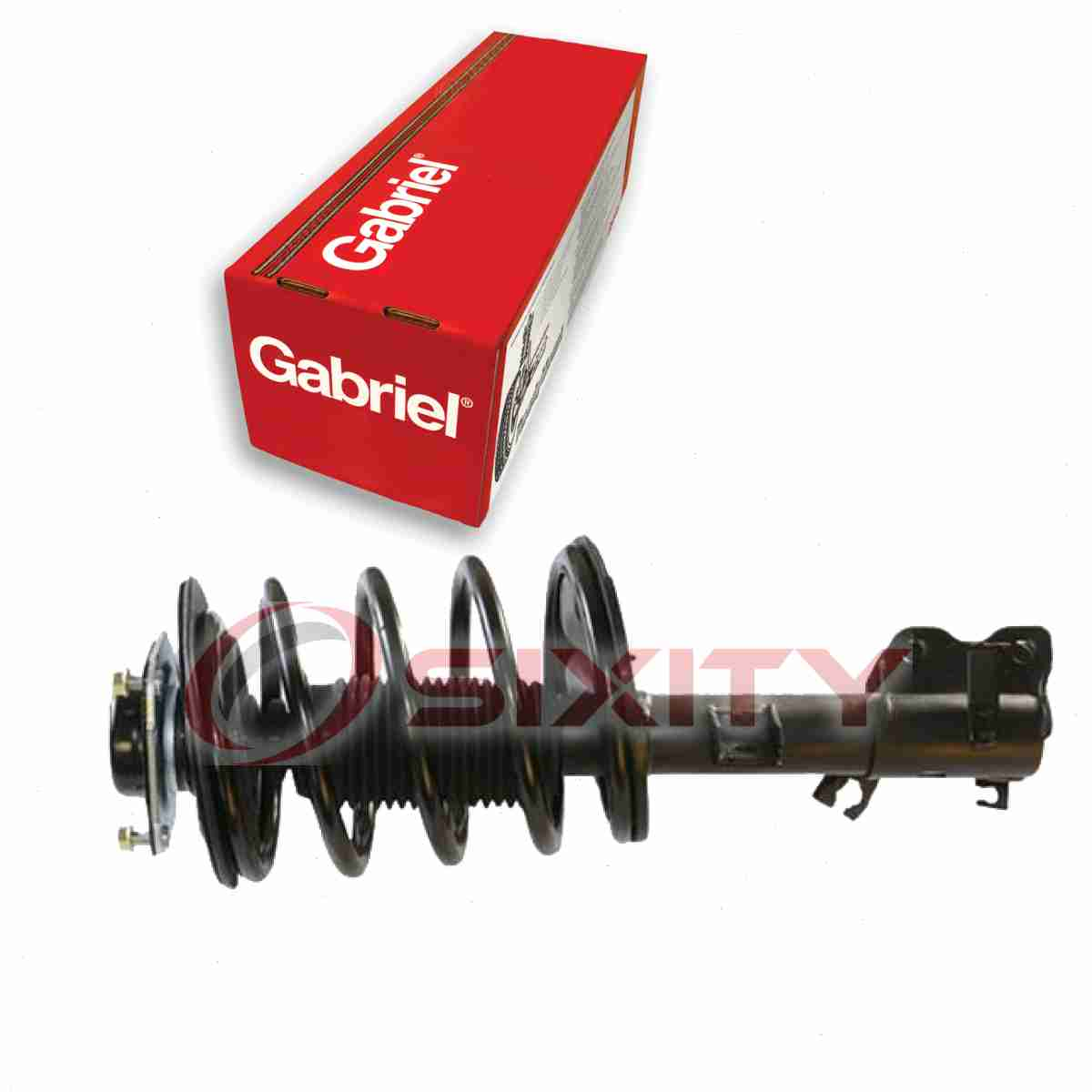 Gabriel Front Right Strut: Gabriel Front Right Fully Loaded Strut For 2002-2006
