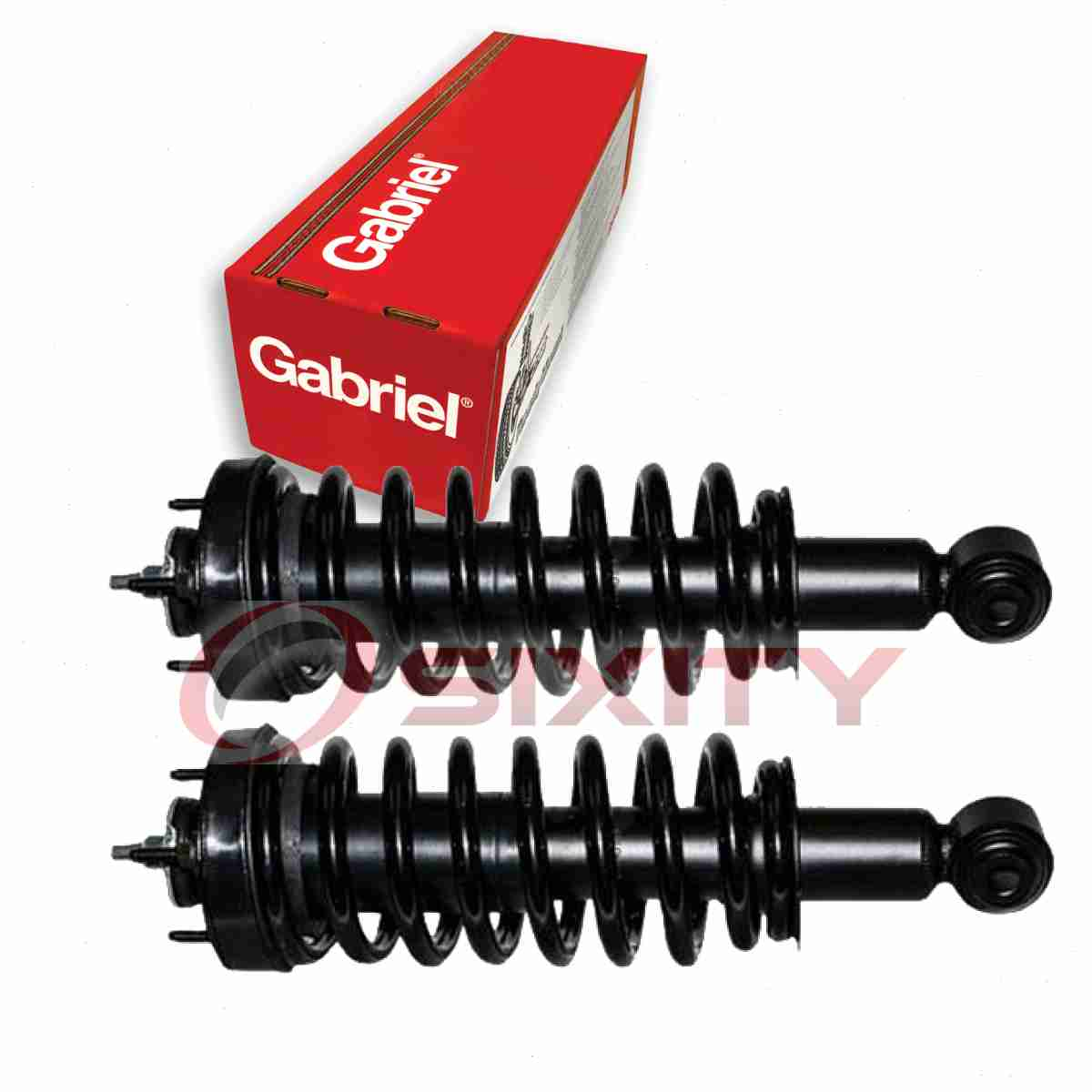 Gabriel Front Right Strut: 2 Pc Gabriel Front Fully Loaded Strut For 2003-2011 Ford