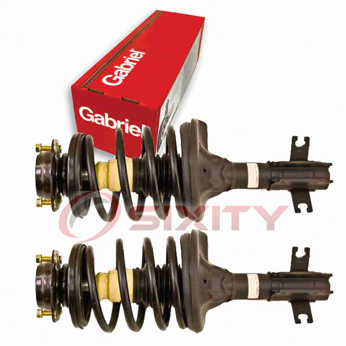 Gabriel Front Right Strut: 2 Pc Gabriel Front Fully Loaded Strut For 1997-2002 Ford