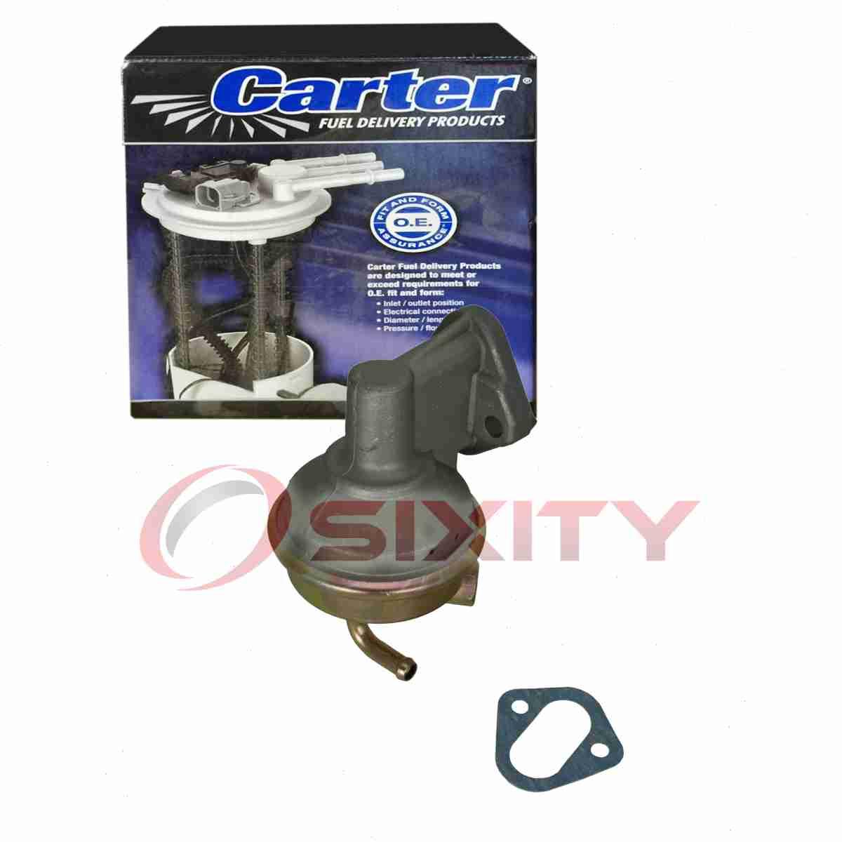 Carter Fuel Pump for 1982-1989 Chevrolet P20 6.2L V8 Mechanical Gas Diesel oh