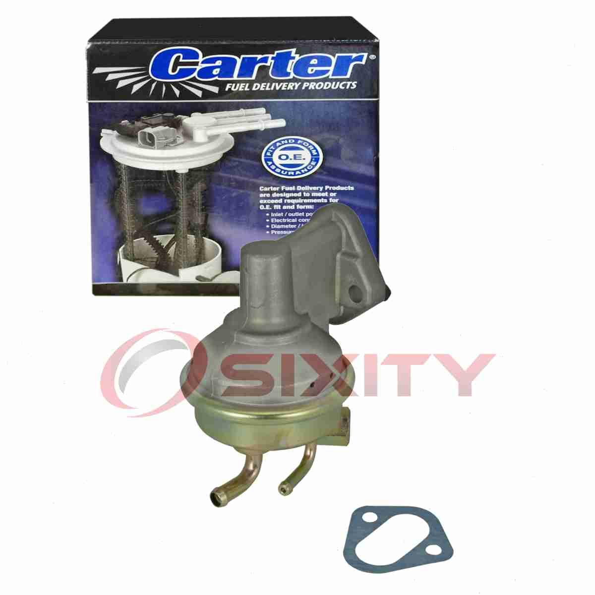 eq Carter Fuel Pump for 1975-1986 Chevrolet K5 Blazer 6.6L 5.0L 5.7L V8