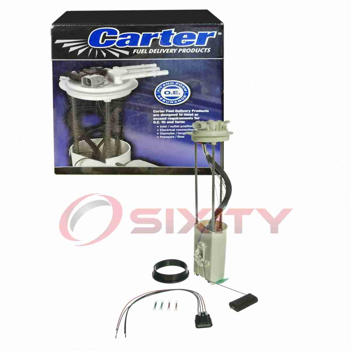 Carter Fuel Pump Module for 2001-2003 Chevrolet Silverado 2500 HD 8.1L 6.0L ji