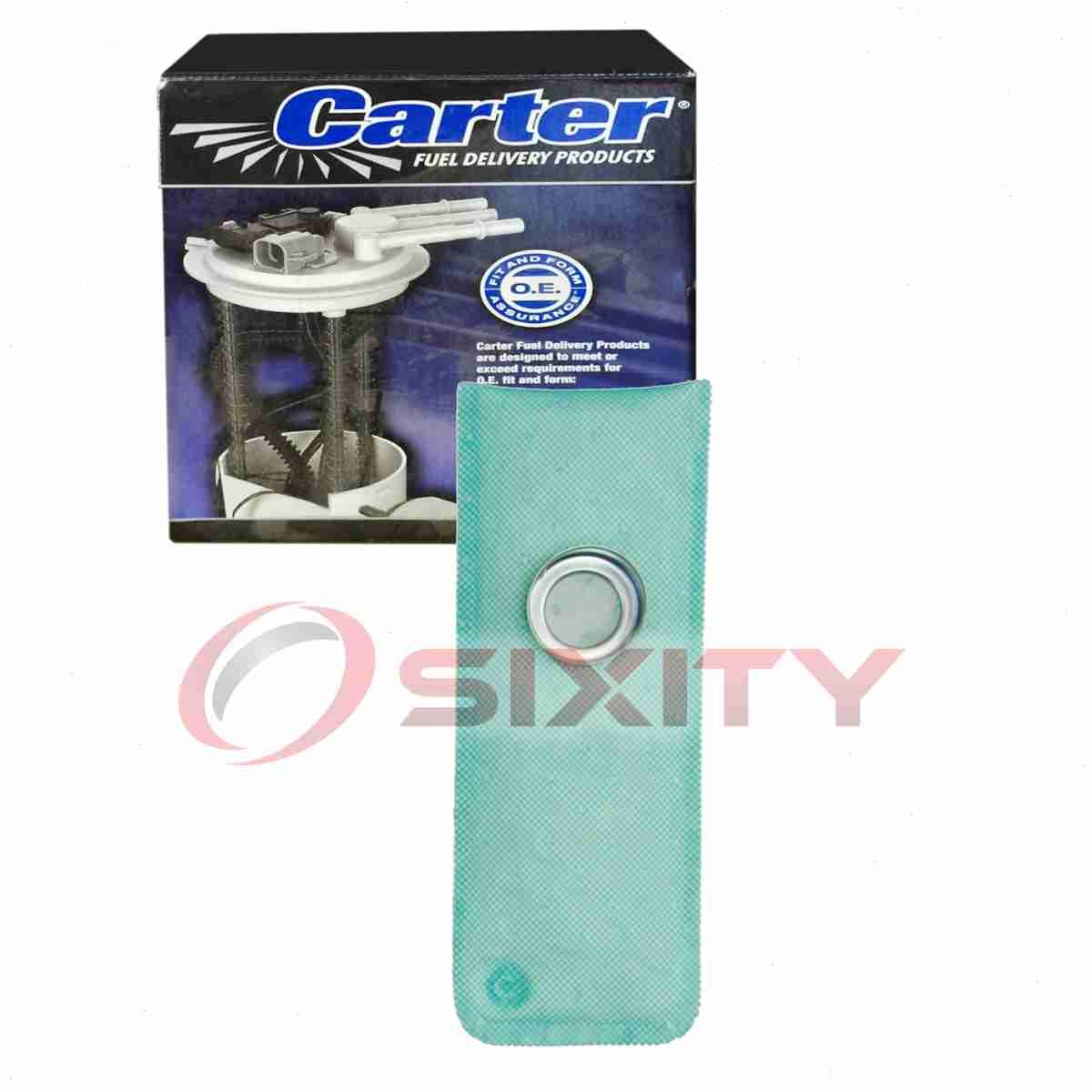 Carter Rear Fuel Pump Strainer for 1986-1989 Ford F-250 4.9L L6 5.0L 5.8L ko