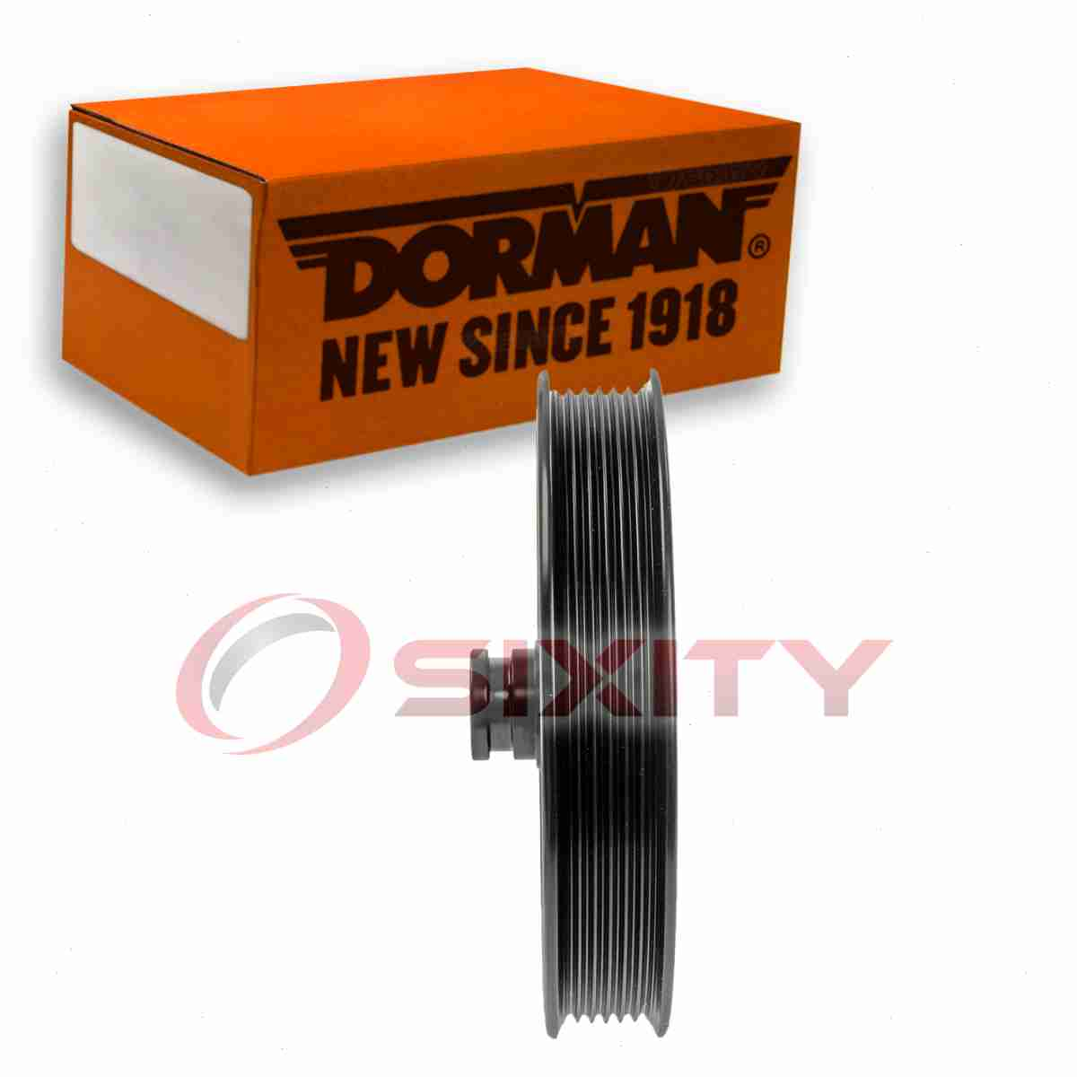 Dorman Power Steering Pump Pulley for Chevy Silverado 2500 1999-2004 6.0L V8 hs