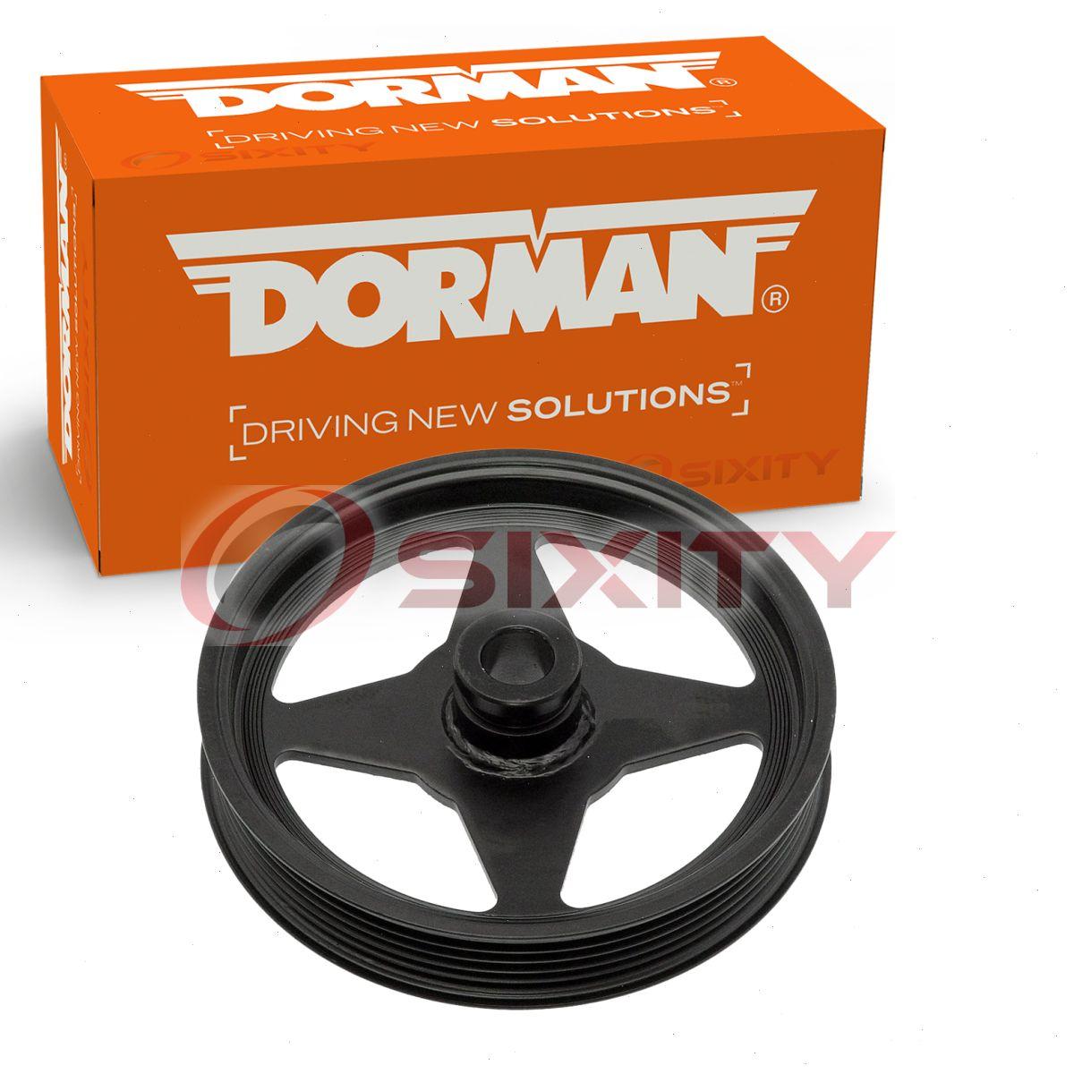 2010 Mercury Mountaineer Suspension: Dorman Power Steering Pump Pulley For Mercury Mountaineer