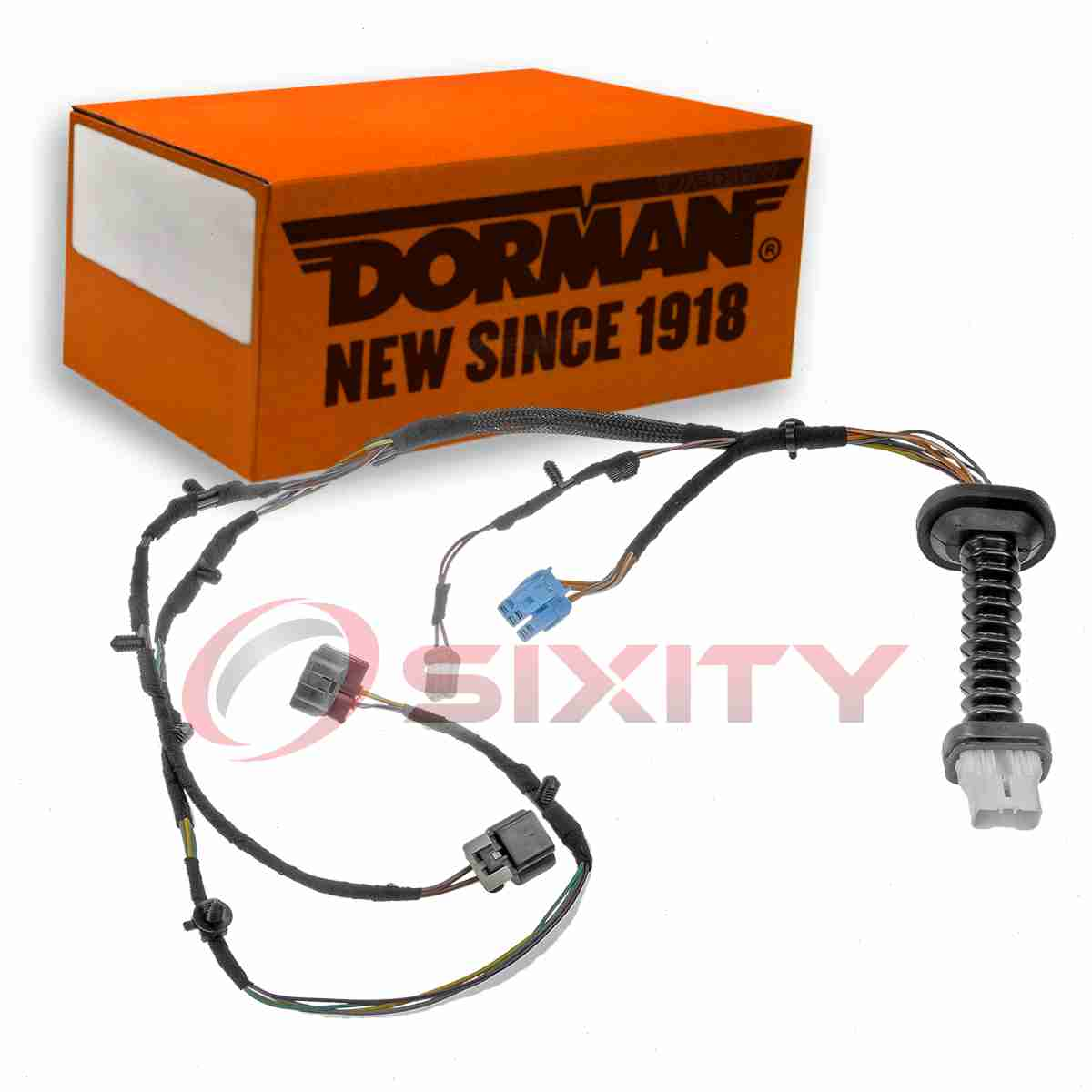 The Dorman TECHoice Door Wiring Harness is engineered with robust materials  to improve durability and performance. A door-wiring harness enables ...