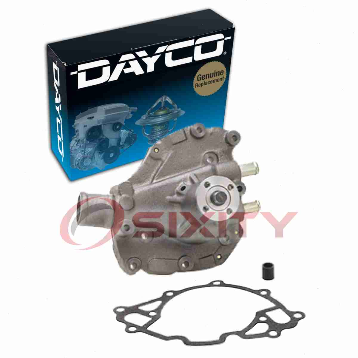 Dayco Water Pump for Ford Maverick 1971-1977 5.0L V8 Engine Tune Up qh