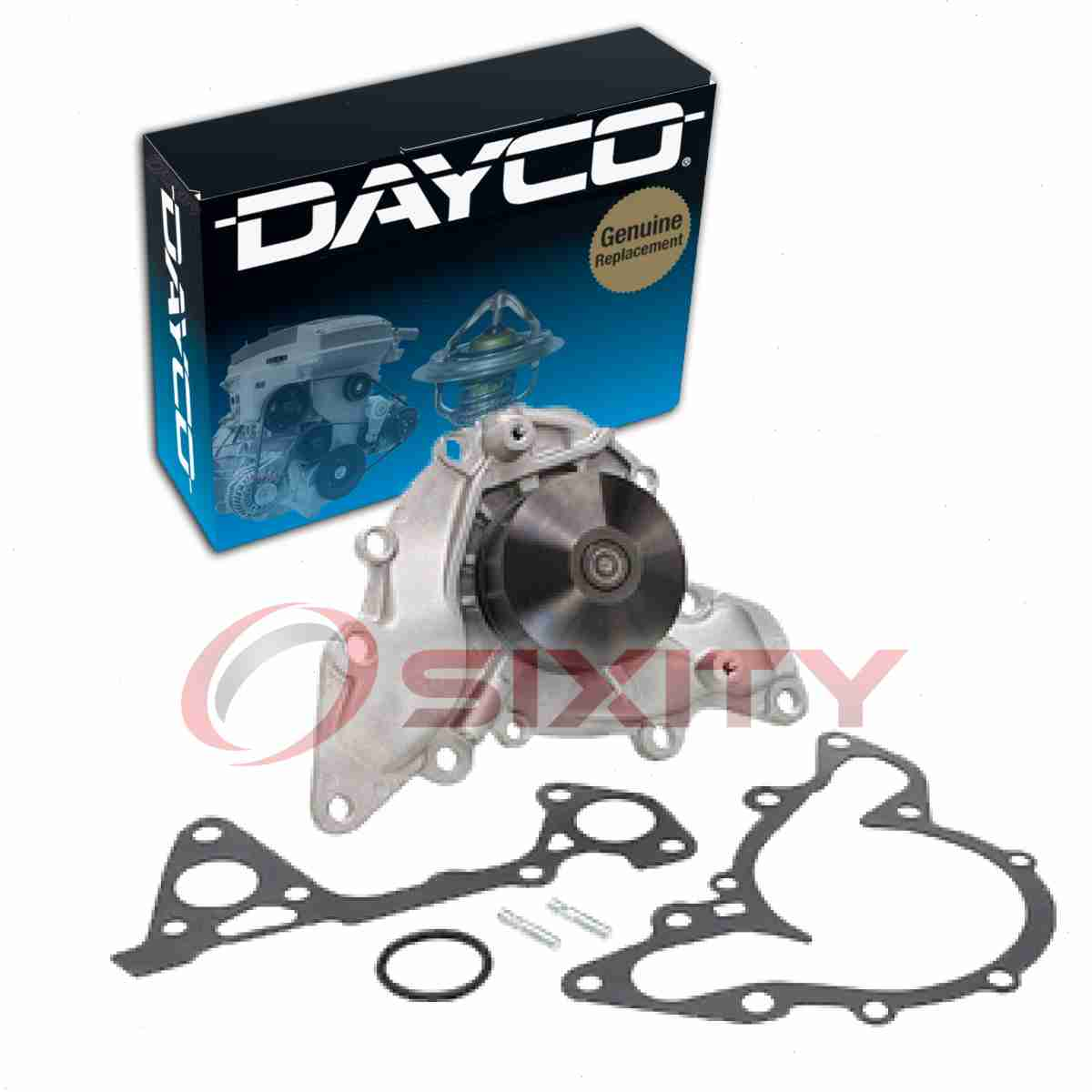 Dayco Water Pump for Mitsubishi Montero 1995-2000 3.0L V6 Engine Tune Up kh