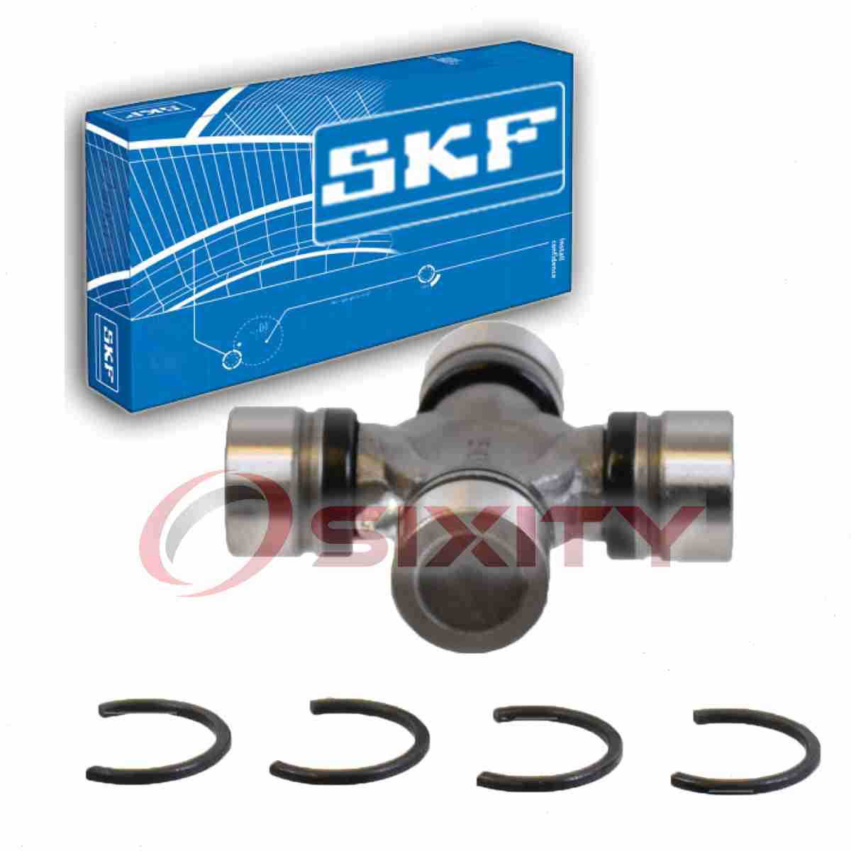 SKF Rear Shaft Front Joint Universal Joint for 2001-2008 Chevrolet Suburban qt